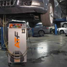 Automaattivaihteiston öljynvaihtohuolto
